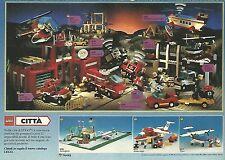 X1815 La Città di LEGO - Pubblicità del 1990 - Vintage advertising