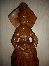 SUPERBE ANCIENNE STATUE / SAINTE MARIE DE BOURGOGNE? /EGLISE RELIGION/H.60,5 cm