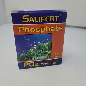Salifert Phosphate PO4 Aquarium Test Kit Marine & Freshwater Exp 5/2023