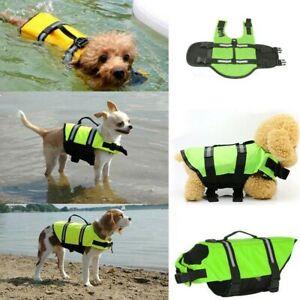 Safety Dog Puppy Beach Swim Life Jacket Vest Reflective Stripes Pet Supply XS-XL
