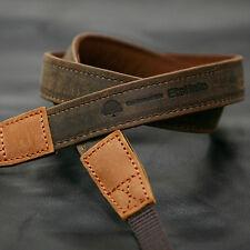 MATIN D-SLR RF Mirrorless Camera Leather Neck Shoulder Strap Vintage-20 Brown