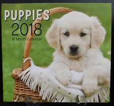 2018 Puppies 16 Month Calendar