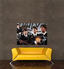 Poster Print Photo Music Concert Shot Beatles Fab Four John Paul George Seb1008