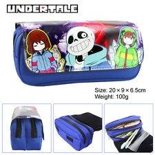 Anime Undertale Pen Pencil Case Zipper Make Up Bag box cosplay A