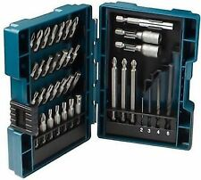 Makita B-57015 HSS Drilling, Driving and Nutsetter Bit Set 38 pcs