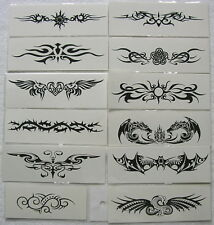 Sale!12 Different Tribal  Armband Temporary Tattoos BT9