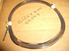military electronic silver ribbon wire