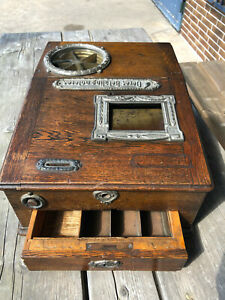 Antik Registrierkasse um 1880 Kassenfabrik Martin Berlin Patent