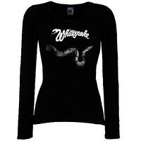 DAMEN WOMEN LADY BLACK T-SHIRT TOOL 2 HEAVY METAL ROCK LANGARM//KURZARM