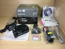 JVC Everio GZ-MC500 DIGITAL VIDEO MEDIA CAMERA 3CCD