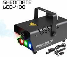 DJ Fog Machine, SHENMATE Professional Portable Smoke Machine with LED Lig... New