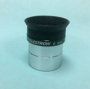 "Celestron 6mm Plossl High Power 1.25"" Eyepiece For Telescope ~ NEW"