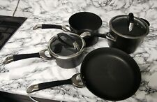 Circulon Symmetry Hard Anodised Non-Stick Induction 4 Piece Cookware Set