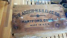 Antique electric sockets box 1920's