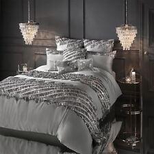 Kylie Minogue Elize Pewter Duvet Cover Bed Set Or Cushion