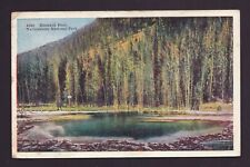 Old Vintage 1934 Postcard of Emerald Pool Yellowstone National Park