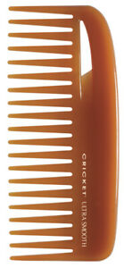 Cricket Ultra Smooth Conditioning Hair Comb Rake Comb infused with Argan Oil.