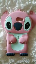 UK-SILICONE CASE STITCH PINK for SONY XPERIA M2 S50H