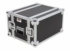 "OSP 6 Space 10"" Deep Effects ATA Flight Rack Road Case / Storage in Lids"