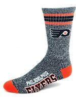 For Bare Feet Philadelphia Flyers Gray Got Marbled Crew Socks