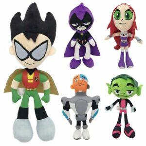 "Teen Titans Peluche de Juguete Figura De Raven Go Suave Muñeca 10"" Niños Regalo"