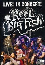 REEL BIG FISH LIVE IN CONCERT DVD NEW SEALED FREE UK POST