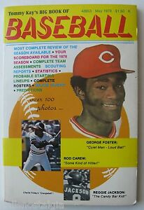 1978 Tommy Kay's Big Book of Baseball - George Foster, Carew, Reggie Jackson etc