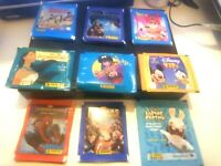 PANINI RARE LOT 45 POCHETTES RANMA 1/2 DRAGON BALL Z POCAHONTAS SPIDER-MAN ETC