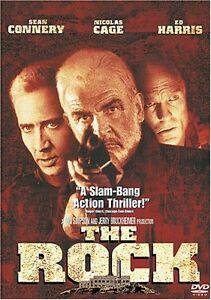 Brand New DVD The Rock Sean Connery Nicolas Cage Ed Harris  Michael Bay Director
