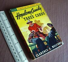 """c1950 """"Hopalong Cassidy Takes Cards"""" by Clarence Mulford. Popular Library USA PB"""