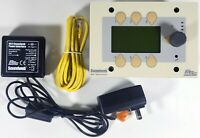 BSS Soundweb 9010 Remote Control & 9011 Power Interface 4 SW 9088 9088iis BEIGE