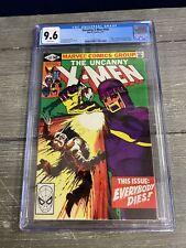 The Uncanny X-Men #142 Marvel 1981 CGC 9.6 Comic Book