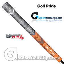 GOLF Pride New Decade Multi composti MCC PLUS GRIP 4-Nero/Arancione x 3