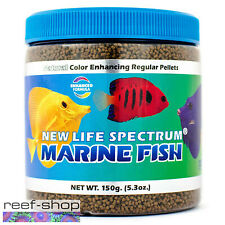 New Life Spectrum MARINE FISH Pellets 150g Saltwater Fish Food Free USA Shipping