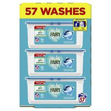 Fairy Non Bio Pods Washing Liquid Capsules for Sensitive Skin XXL Pack 57 Washes