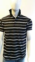 GILLICCI MENS SUMMER CASUAL STRIPED FASHION BRANDED COTTON POLO SHIRT T-SHIRT C3