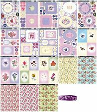 Kanban kit - Forever Floral - die cut paper craft toppers & card for cardmaking