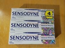 Factory Sealed 3 Pack Sensodyne Extra Whitening Sensitive Toothpaste 6.5oz 10/23