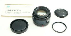 FAST MINOLTA MAXXUM AF 50/1.4 50mm f1.4 LENS FOR SONY ALPHA A DSLR