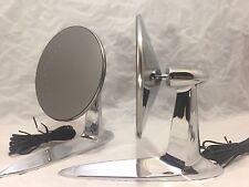1955-1957 Chevrolet Bel Air 150 210 Side Rear View Mirrors LED Turn Signal Pair