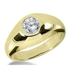 Herren Diamant Brillant Ring 0.25 ct. Diamant 585 oder 750 Gold + Zertifikat