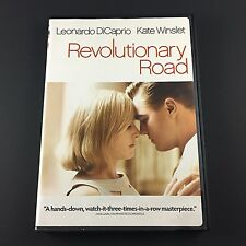 Revolutionary Road - Leonardo DiCaprio, Kate Winslet (DVD, 2009, Widescreen)