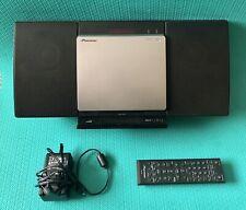 Pioneer Bluetooth CD FM Slim Micro Speaker Model X-SMC00BTB CD/USB/AUX/BLUETOOTH