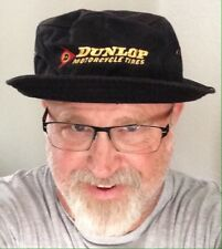 Dunlop Motorcycle Tires Bucket Hat Vintage