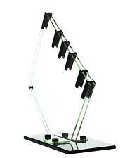 Genius Messerständer Acryl für 5 Messer, transparent/schwarz 873320E17