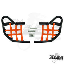 TRX 450R TRX450R Honda  Nerf Bars  Alba Racing   Black bar Orange nets 218 T1 BO