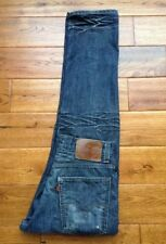 INCREDIBLE! VTG Levis 520 Low Tapered 30x30 32x30 Distressed Mens Jeans AWESOME
