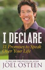 I Declare 31 Promises to Speak Over Your Life by Joel Osteen Brand New Paperback