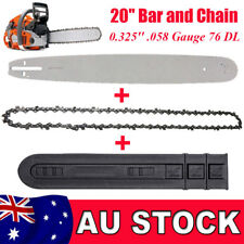 "20"" Guide Bar and Chain 325 058 76DL For Baumr-Ag SX62 SX66 62CC 66CC Chainsaw"