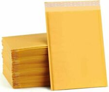 Any Size Kraft Bubble Mailers Shipping Mailing Padded Bags Envelopes Self-Seal